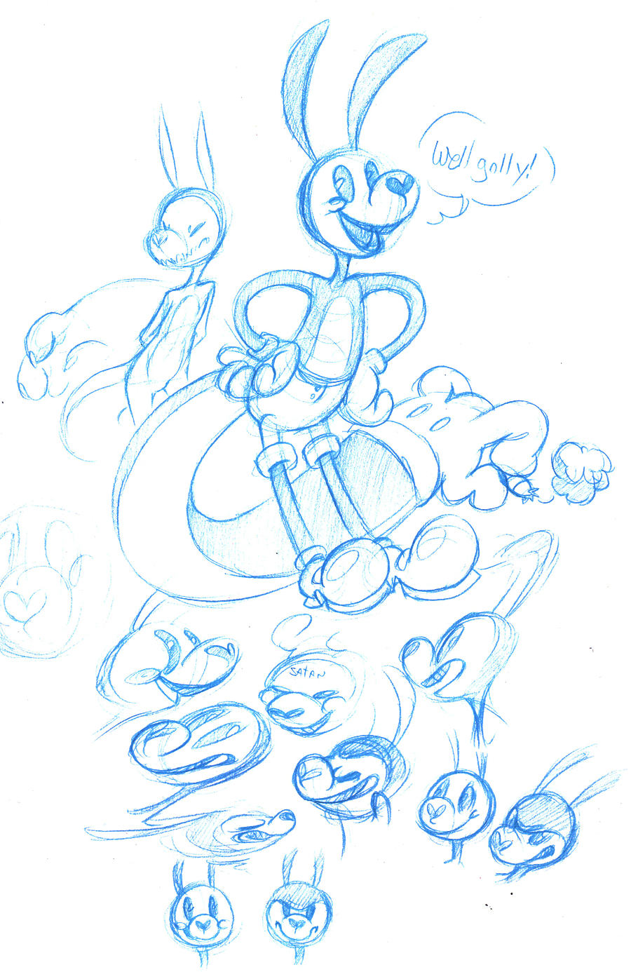 WHY ARE BLUE PENCILS SO GREAT GOSH by R-WOLFE