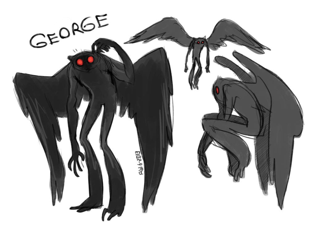 mothman doofuses by R-WOLFE