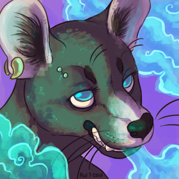 i smoked 30 weeds [icon commission] by R-WOLFE