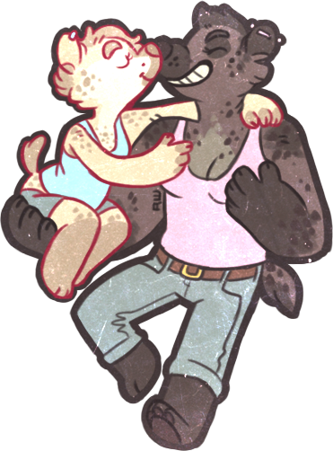 gay yena tent dongles.png [mini commission] by R-WOLFE