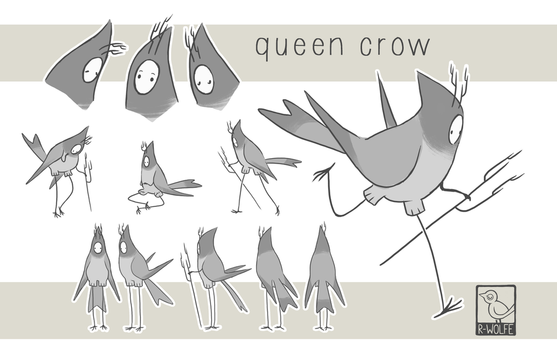 queencrow character sheet by R-WOLFE