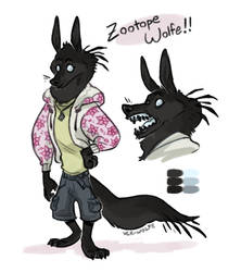 dad its called a zootopesona by VCR-WOLFE