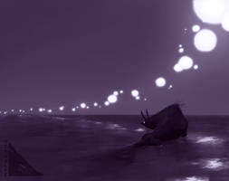 lanterns lit by VCR-WOLFE