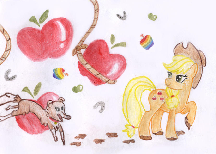 AppleJack by Lydia-Rawr