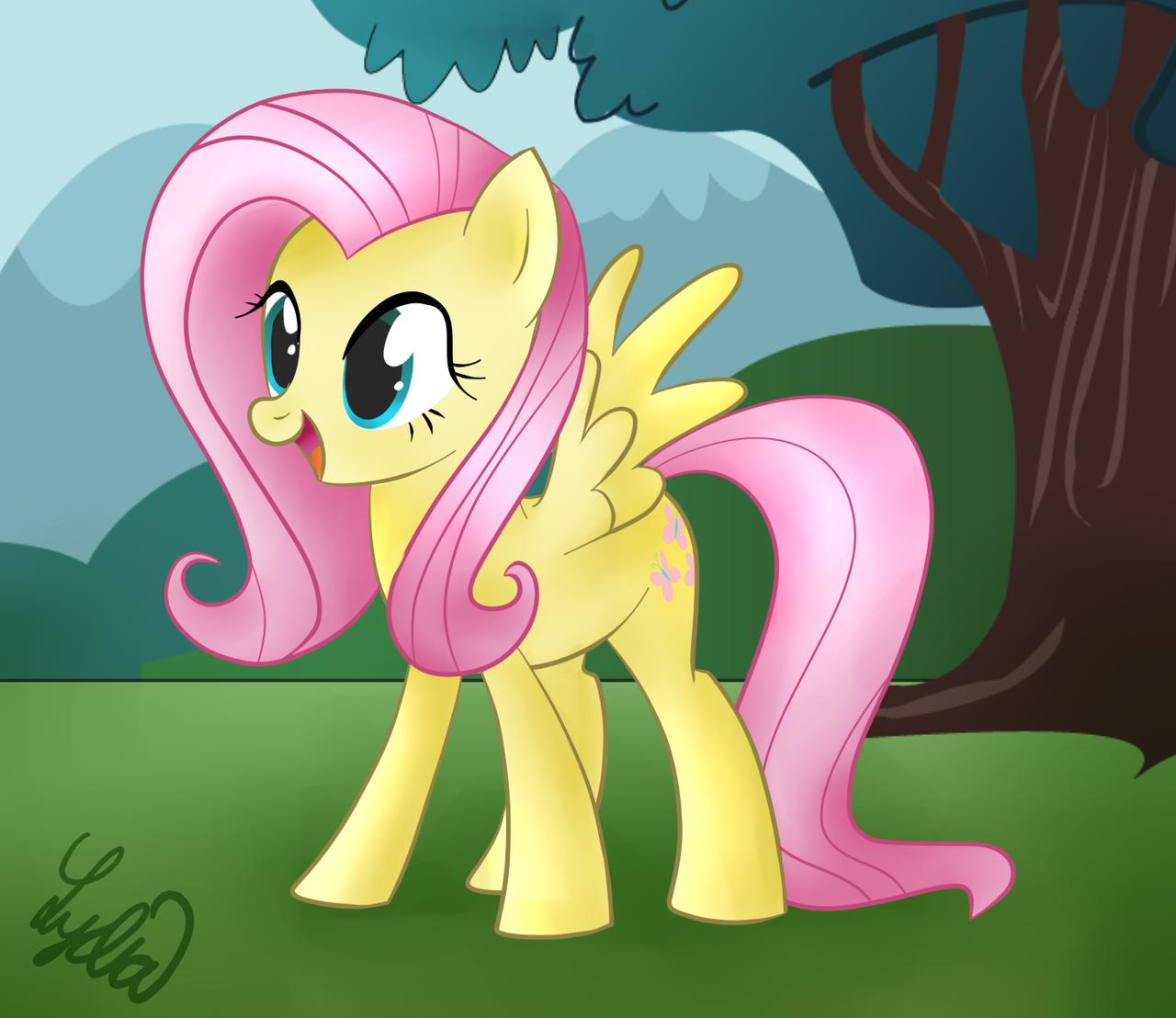 Flutter Shy! by Lydia-Rawr