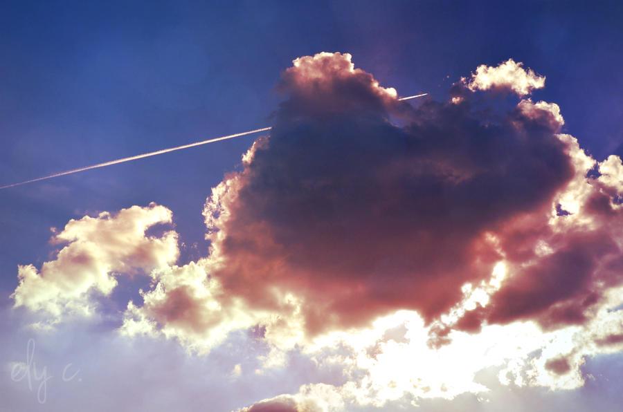cloudy sky by aPurringCat