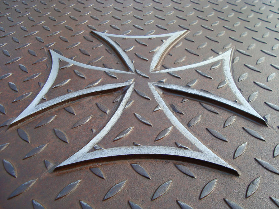 Iron Cross Coffee Table By ShaneMartinDesigns