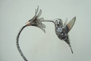 scrap stainless hummingbird