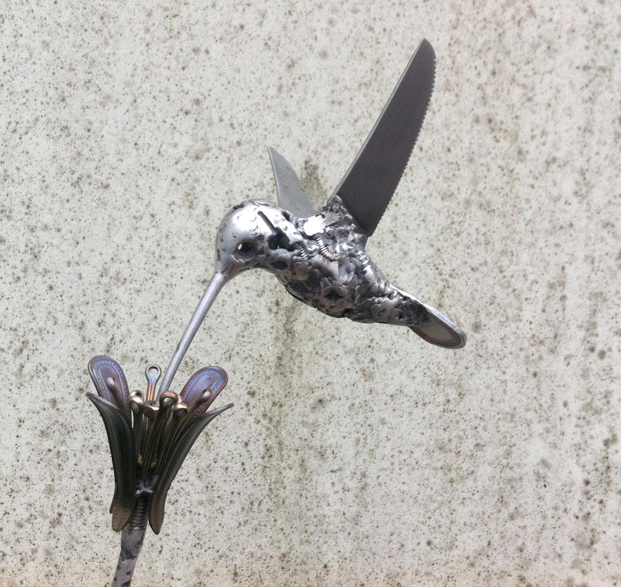 HUMMINGBIRD #3 by ShaneMartinDesigns