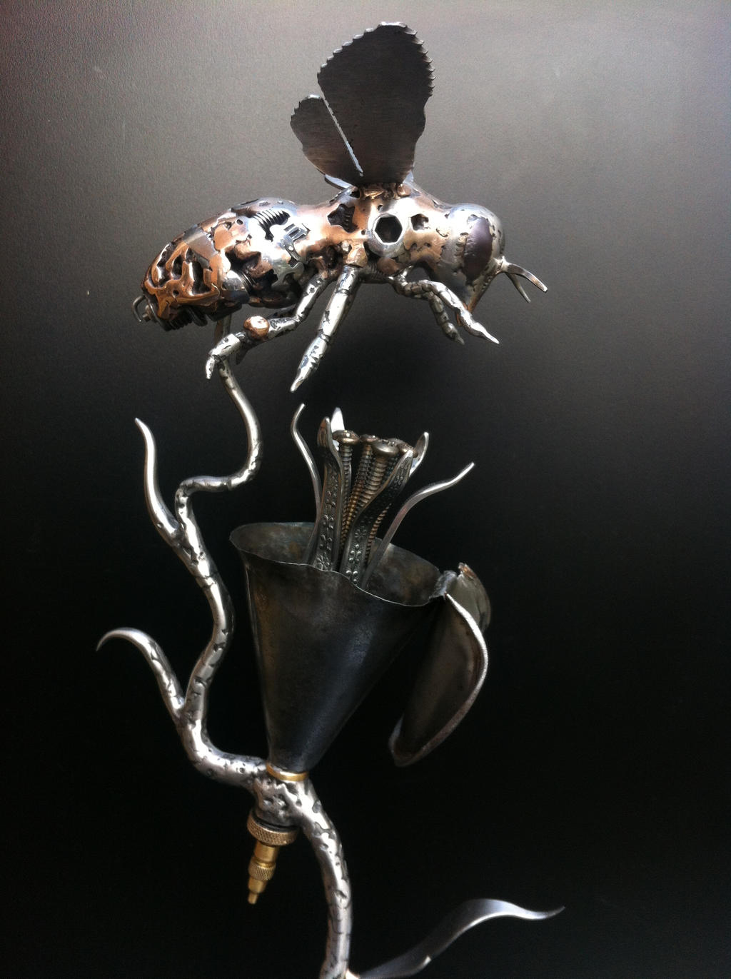 Spark Plug Honey Bee by ShaneMartinDesigns