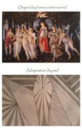 Shapes Comparison - Adaptation and Original by Elioma