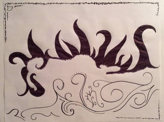 Dragon, I guess? by Elioma