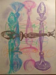 Candlesticks by Elioma