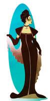 Upper-Class Vulcan Lady