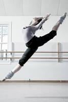 Ballet - Kitri's Leap by HowNowVihao