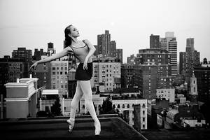 Rooftop Dancer by HowNowVihao