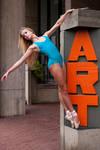 Dancer Against Concrete III