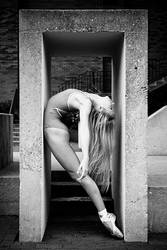 Dancer Against Concrete IV by HowNowVihao