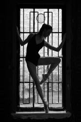 Dancer in Silhouette
