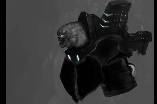Alien concept sketch