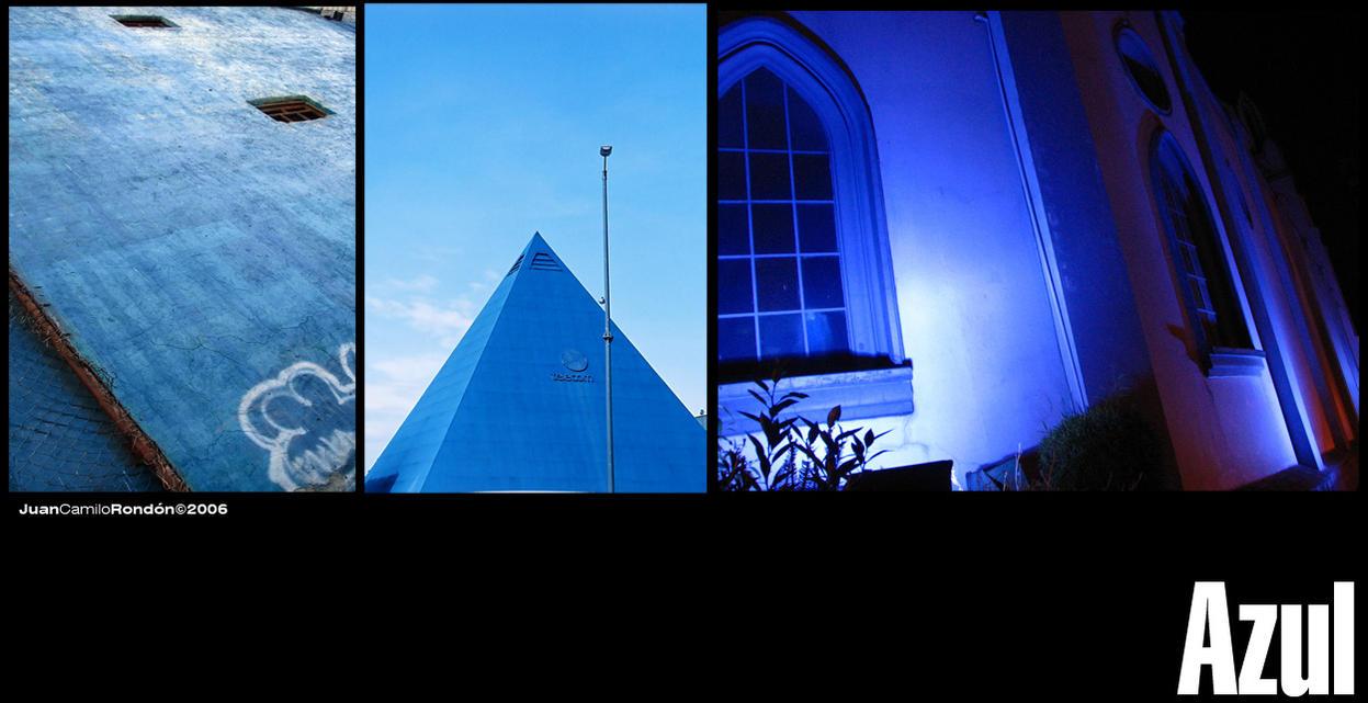 Azul 1 by Jucaro