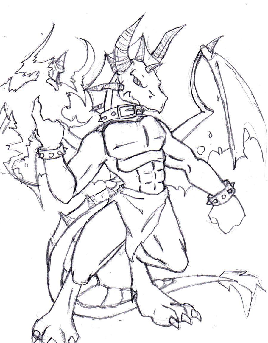 Dragon Wyraach by Underworlder666