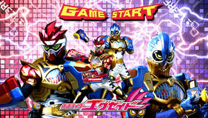 Kamen Rider Para-DX Puzze and Fighter Game LV 50