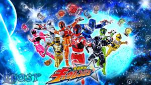Uchuu Sentai Kyuranger wallpaper 2