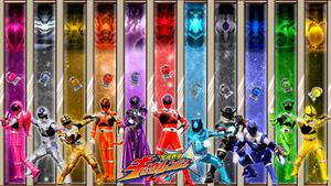 Uchuu Sentai Kyuranger wallpaper 3