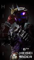 Kamen Rider Hibiki Smart Phone wallpaper