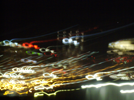 Tennessee -- Abstract Nashville at Night