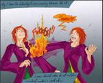 Fred and George- Blazers