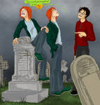 Fred + George- Grave buisness