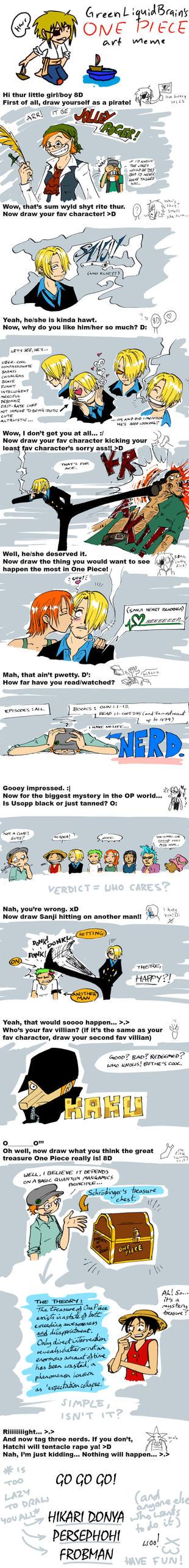 One Piece Meme by olafpriol