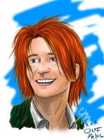 George Weasley by olafpriol