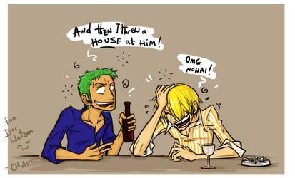 Drinking Buddies by olafpriol