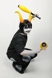 Gamzee cosplay- DigViz photo by olafpriol