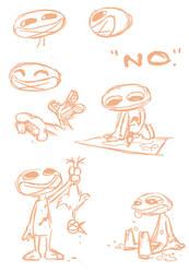 No: design sketches by olafpriol