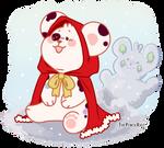 [Baobears] Winter cape