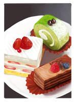 cake speedpaint by kufr