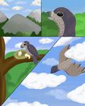 [TWWM] Once I Was A Bird ~ Raju Origin Prompt