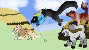 [Ketucari] One, Two, Three, ATTACK!! Battle