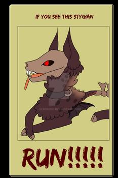 [Stygians] [STAFF-005] Warlord poster