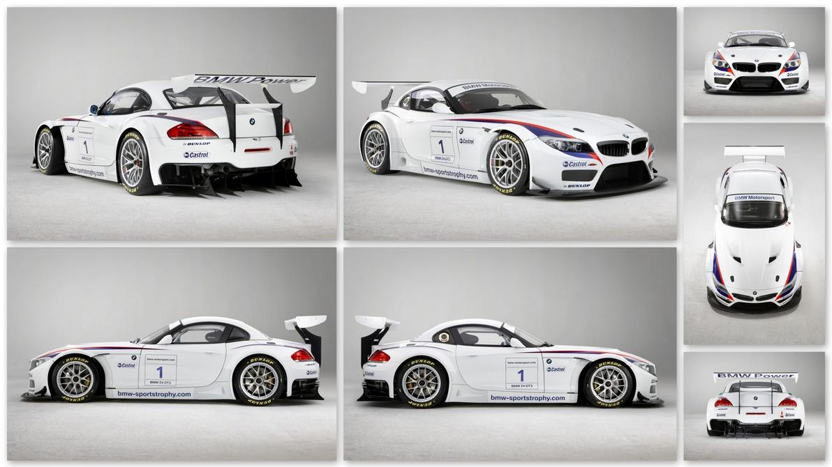 BMW Z4 GT3 numéro 1