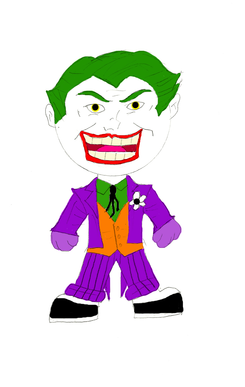 Joker Chibi by hpWiz on DeviantArt