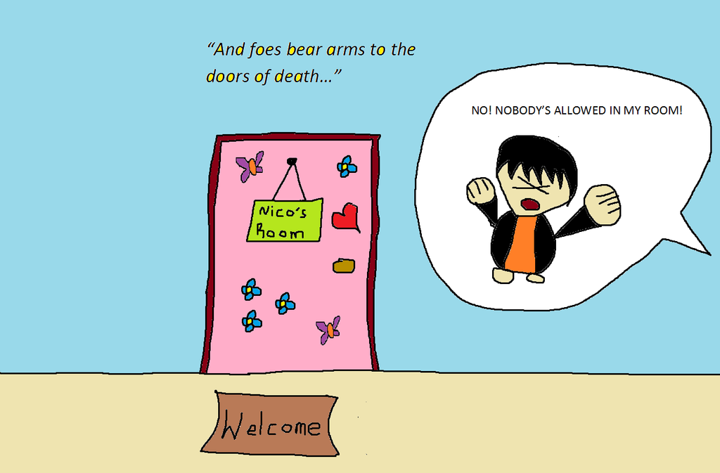 Nico\u0027s Room - The Doors Of Death by PJatOluv ...  sc 1 st  PJatOluv - DeviantArt & Nico\u0027s Room - The Doors Of Death by PJatOluv on DeviantArt