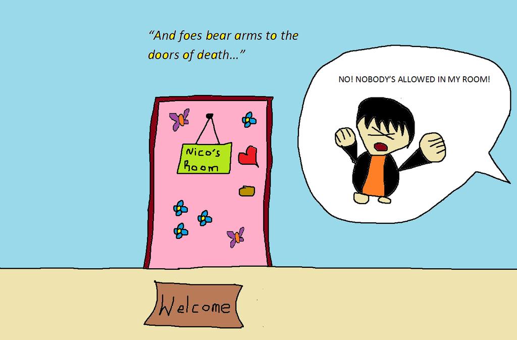 Nico\u0027s Room - The Doors Of Death by PJatOluv ...