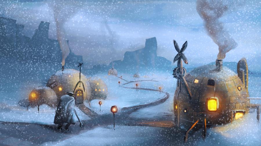 nieve  steampunk by skeiro