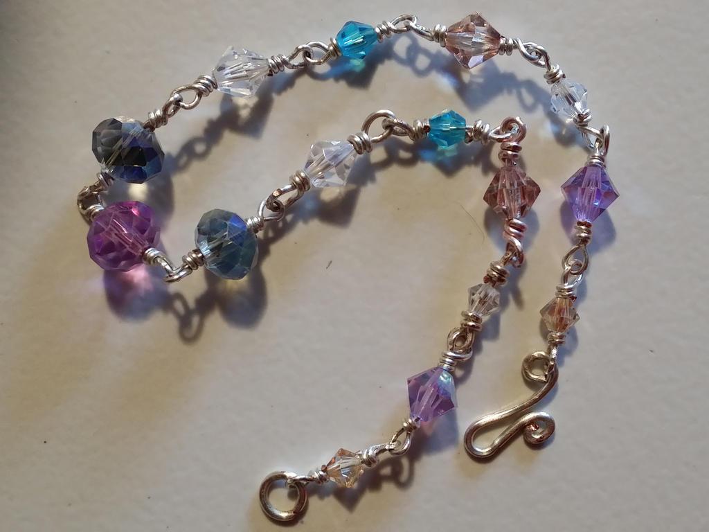 crystal bracelet by monac66