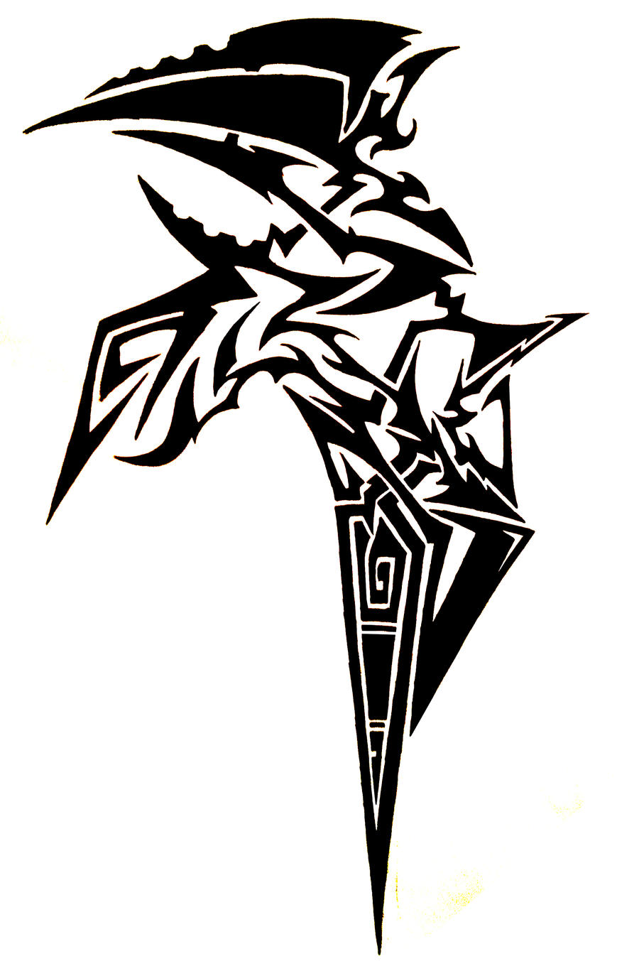 tribal lightning tattoo wwwimgkidcom the image kid